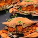boiled spicy crab
