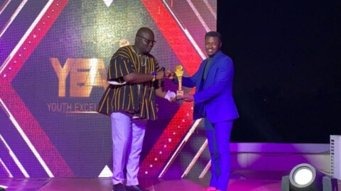 Barimah Amoaning Samuel awarded Digital Marketer of the year at YEA